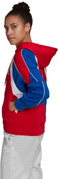 Colorblock veste à capuche