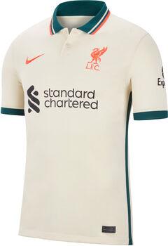 Nike FC Liverpool 21/22 Stadium Away Fussballtrikot Herren Weiss