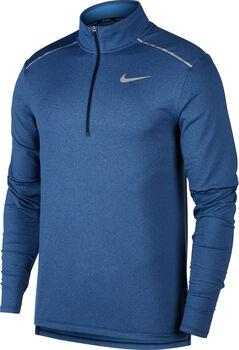 Nike Element 3.0 1/2 Zip Laufshirt langarm Herren Blau