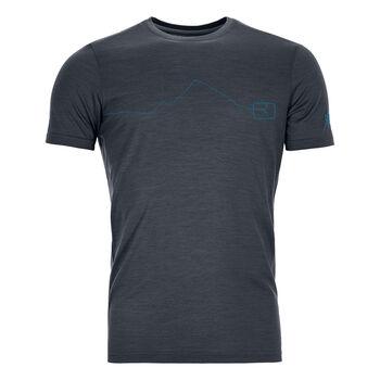 ORTOVOX 120 Tec Moutain T-Shirt Herren Schwarz