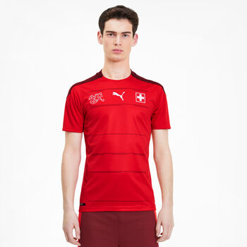 Puma Equipe National Suisse Home Replica Maillot de football Hommes Rouge