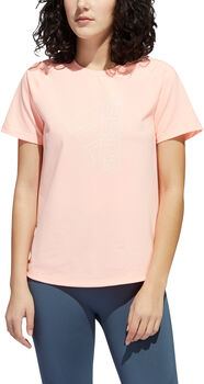 adidas Badge of Sport T-Shirt Damen Pink