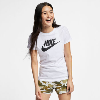 Nike Sportswear Essential T-Shirt Damen Weiss