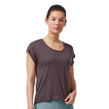 On Active Shirt running à manches courtes Femmes Gris