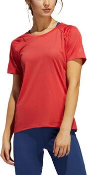 ADIDAS Performance 25/7 T-Shirt Damen Rot