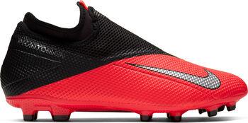 Nike Phantom Vision 2 Academy FG/MG Fussballschuh Rot