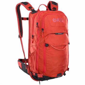 evoc Stage 18 L sac à dos de cycliste Rouge