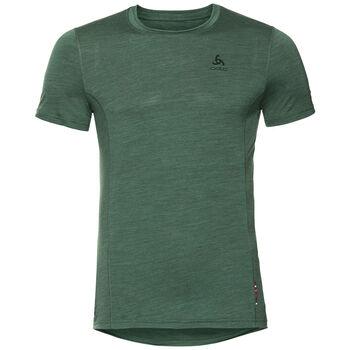 Odlo Natural + Light Baselayer T-Shirt Hommes Vert