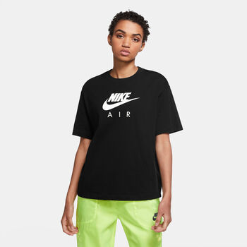 Nike Air Top T-Shirt Damen Schwarz