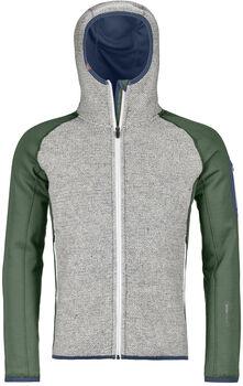 ORTOVOX Fleece Plus ClassicKnit Hoody Hommes Vert