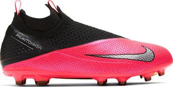 Nike Phantom Vision 2 Elite DF FG/MG Fussballschuh Rot