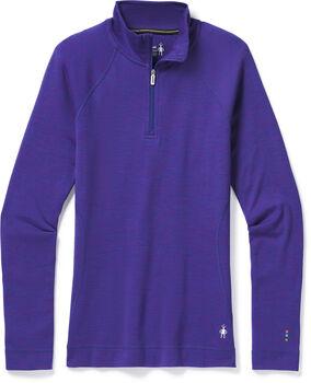Smartwool Merino 250 1/4 Zip Baselayer Damen Violett