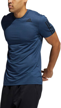adidas Primeblue AEROREADY 3 bandes Slim haut d'entraînement Hommes Bleu