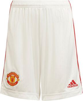 adidas Manchester United Home short de football Blanc