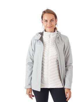 MAMMUT Convey 3 in 1 Hooded 2.5 Lagen Hardsehlljacke Damen Weiss
