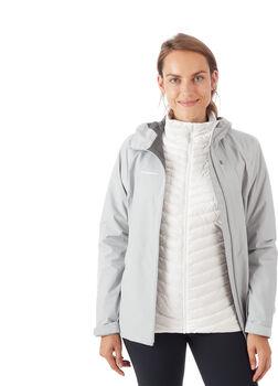 MAMMUT Convey 3 in 1 veste hardshell de 2,5 couches à capuche Femmes Blanc