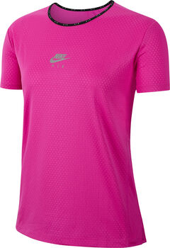 Nike AIR Laufshirt kurzarm Damen Pink