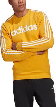 adidas Essentials 3-Streifen Sweatshirt Herren Gold