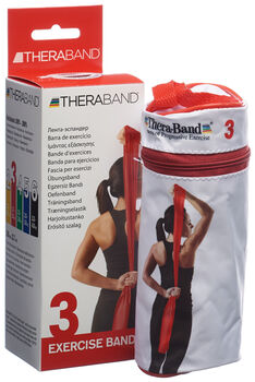 TheraBand 2.5m bande fitness  Rouge