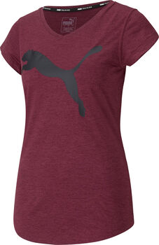 Puma Heather Cat t-shirt de training  Femmes Rouge