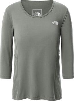 The North Face Hikesteller 3/4 T-Shirt Damen Grün