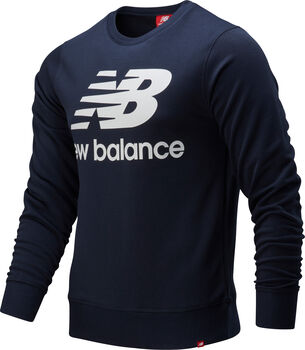 New Balance Essentials Stacked Logo Pullover Hommes Bleu