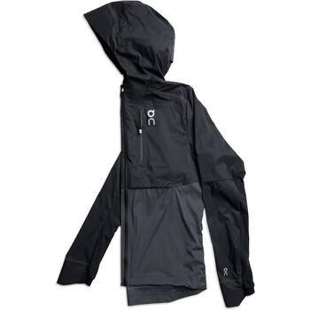 On WEATHER veste de running Hommes Noir