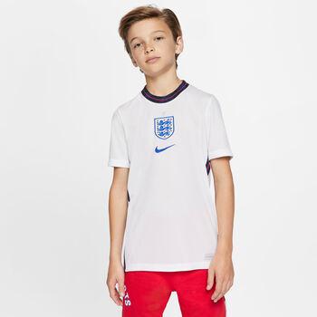 Nike England 2020 Stadium Home Fussballtrikot Weiss