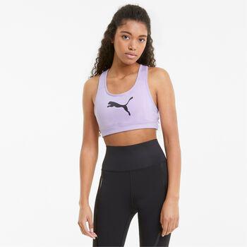 Puma Mid Impact 4Keeps brassière de sport Femmes Violet