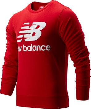 New Balance Essentials Stacked Logo Pullover Herren Rot