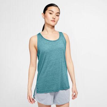 Nike Yoga Tanktop Damen Blau