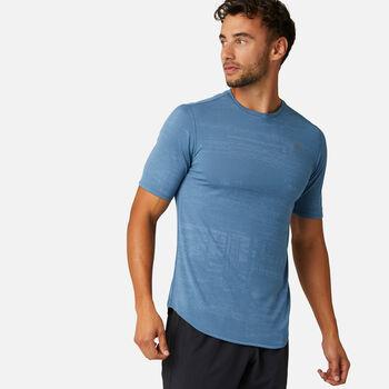 New Balance Q Speed Breathe T-Shirt Herren Blau