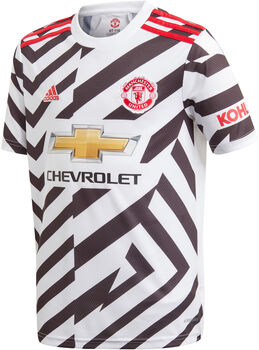 adidas Manchester United 20/21 3R Fussballtrikot Weiss