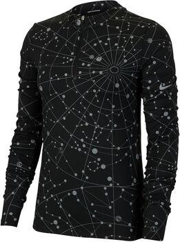 Nike Sportswear Element Flash chemise d'entraînement à manches longues Femmes Noir