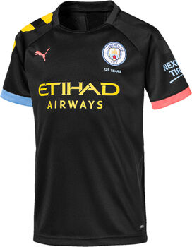 Puma Manchester City Away Fussballtrikot Schwarz