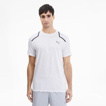 Puma Power BND Trainingsshirt Herren Weiss
