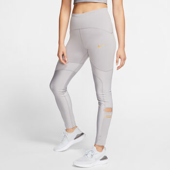 Nike Glam Speed 7/8 Tights Damen Grau