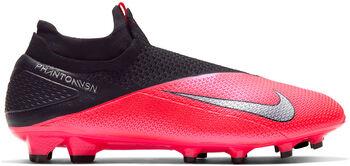 Nike Phantom Vision 2 Elite Dynamic Fit FG Fussballschuh Rot