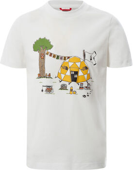 The North Face Graphic t-shirt Blanc