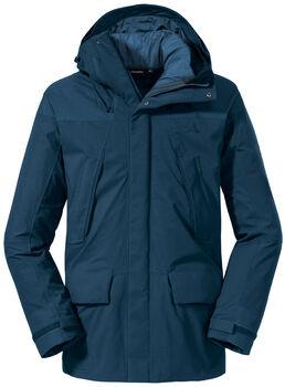 SCHÖFFEL 3in1 Parka Roraima veste de randonnée Hommes Bleu