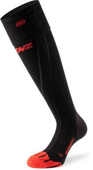 Lenz 6.0 Toe Cap Merino chaussettes chauffantes Noir