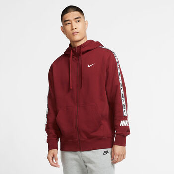 Nike Sportswear Repeat Hoody Herren Rot