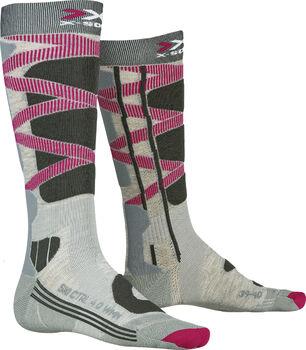 X-Socks SKI CONTROL 4.0 Skisocken Damen Grau