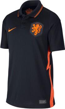 Nike Holland 2020 Stadium Away Fussballtrikot Schwarz