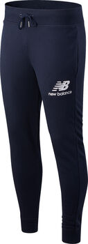 New Balance Essentials Stacked Logo pantalon de training Hommes Bleu