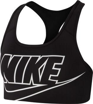Nike Medium Support brassière de sport  Femmes Noir