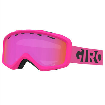 Giro Grade Flash Skibrille Jungs Pink