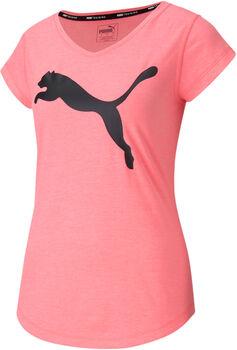 Puma Heather Cat Trainingsshirt Damen Pink