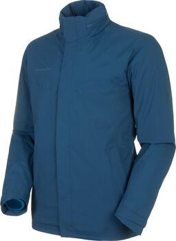 MAMMUT Trovat 3 in 1 Hooded Hardshell-Jacke Herren Blau