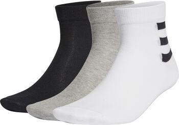 adidas 3 Streifen Socken Weiss